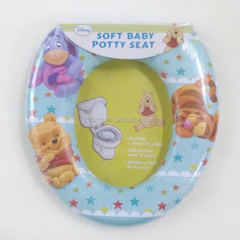 Colorful Designs Soft Close Family Baby Portable Toilet Seat