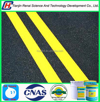 Factory price acrylic fluorescent road marking paint