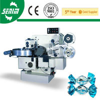 With CE SM800D Fully Automatic Double Twist Candy Wrapping Machine