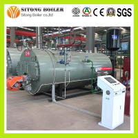 WNS series High Thermal efficiency boiler, Fire tube Industrial Oil & Gas Steam Boiler price