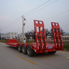 Low Bed Three Axle Semi Trailer