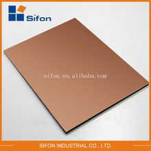 Modern House Design Building Materials Fireproof Aluminum Composite Panel