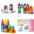 Mags glass color magnetic building tiles mag wisdom magnetic wheel toy