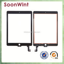 High quality touch screen for ipad, for ipad air 2 replacement lcd touch screen glass digitizer