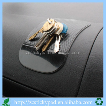 Dashboard grip holder anti-slip silicone car mat