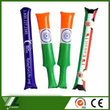 bang boom Inflatable balloon cheer thunder stick , fan cheer inflatable clapper