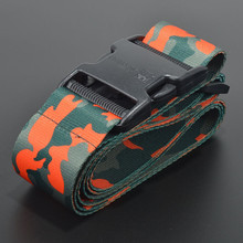 Natural protective color camouflage changeable luggage belt for travel