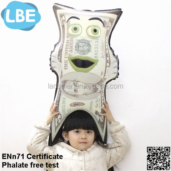 2016 child toy balloon manufacture custom made shape balloons