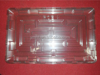 Rapid prototyes casting Clear acrylic PP PC case