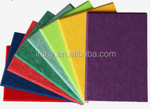fire proof and sound absorb materials Polyester Fiber Acoustic Panel