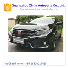 HOT SALE !! HIGH QUALITY MODIFIED RS BODY KIT BODYKIT FRONT BUMPER FOR CIVIC 2016 2017