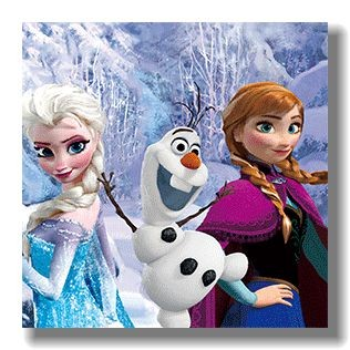 3d deep effect carton lenticular printing of frozen with animal image picture