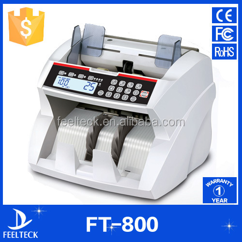 Hot selling bill counter and sorter,vacuum note counter,sorter banknote