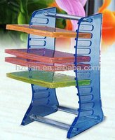 Manufacturing acrylic CD display/DVD rack,acrylic cd holder in media storage rack