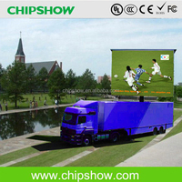 P10 waterproof full color outdoor mobile truck led screen for advertisment