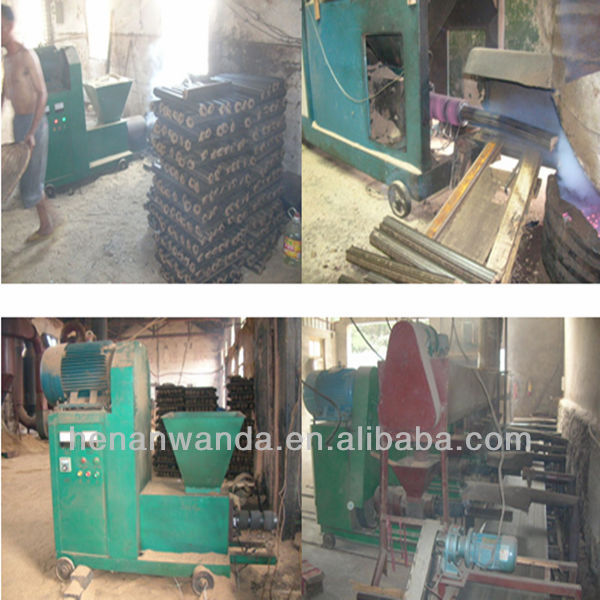 small Rice husk charcoal briquette making machine price