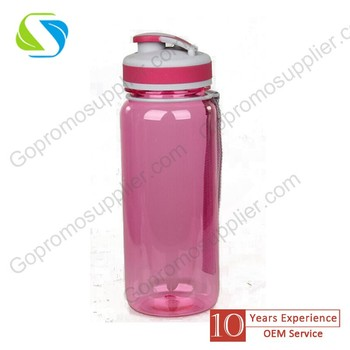 Hot selling bpa free custom plastic bottle with custom logo