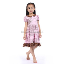 2017 new arrival handmade baby dress frocks dresses baby dress cutting