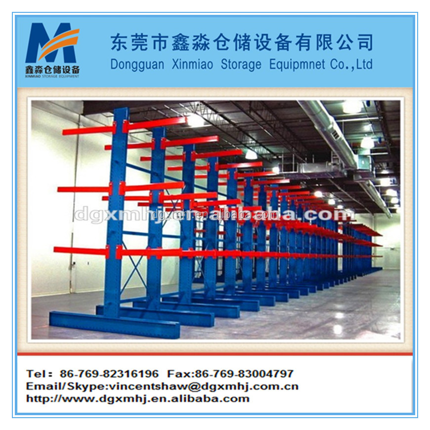 steel pipe cantilever storage rack