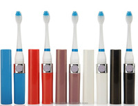 OEM Battery Powered with 3 Brush Heads Oral Hygiene Teeth Cleaning new design Ultrasonic Electric Toothbrush