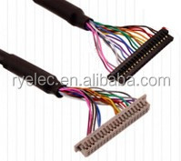 OEM/ODM lvds lcd cable assembly video display cable