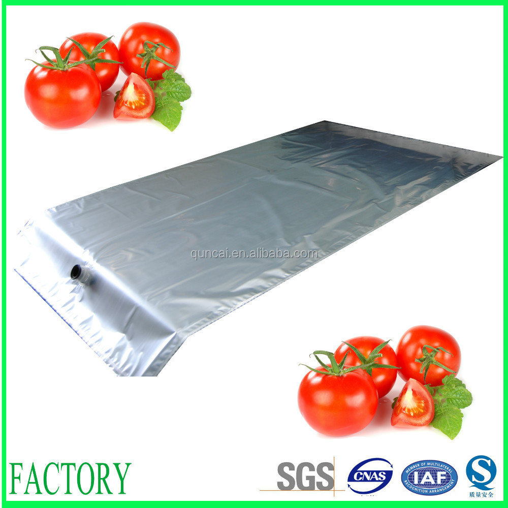 Most professional SGS approved aseptic bag for drum