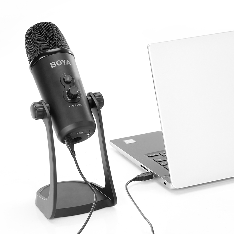BY-PM700 Flexible Modèle Polaire USB Micro À Condensateur pour Windows et Mac L'enregistrement Sur Ordinateur Entretien Conférence - ANKUX Tech Co., Ltd