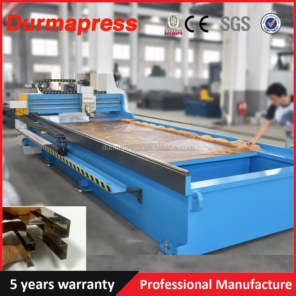 3200mm stainless steel CNC Pneumatic v-groove steel cutter ,bender, machine, V piercing machine