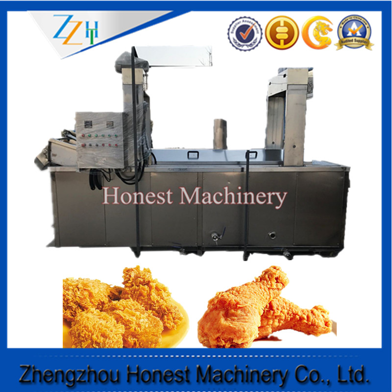 Industrial Commercial Gas Tornado Potato Chicken Pressure Deep Fryer