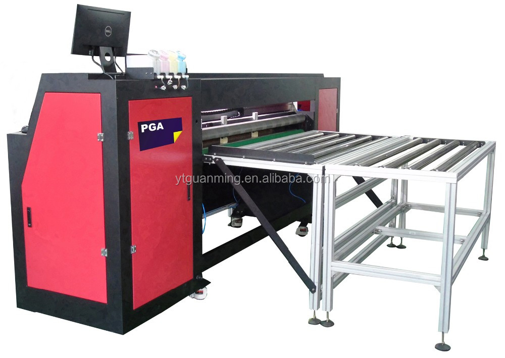 CMYK-4 Colors 1400HF Pizza Box Inkjet Printer Machine For Sale