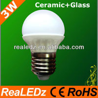 High Power 2013 hot sale e27 3w led bulb light excellent quality and competitive price
