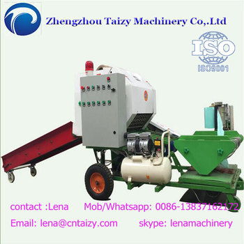 Easy operation silage wrapping machine Silage Baling Machine