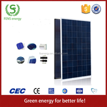 High quality rechargeable portable new design 70w poly solar panel price