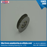 High speed and low noise bearing with high quality and deep groove ball bearing for motorcycle wheels