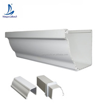 Lowes PVC Rain Gutter Drainage materials leaf guard for sale