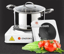 cnzidel samll camping 1500w for Europe hot plate cast iron