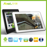 "IPS screen 10"" tablet writing pad with 3g dual sim gps S108."