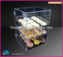 Eco-friendly Bakery Acrylic Cake Display Cases