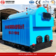 DZH1.4MW Fire Wood or Rice Husk Straw Hot Water Boiler for Restaurant