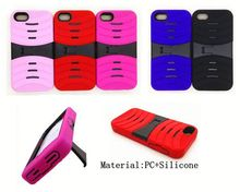 Wholesale Phone Cover Heavy Duty Kickstand Defender Combo Case for ipod Touch 5