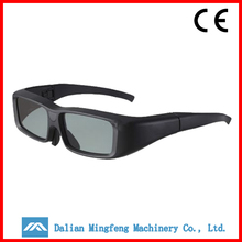 black ABS movie 3d glasses factory