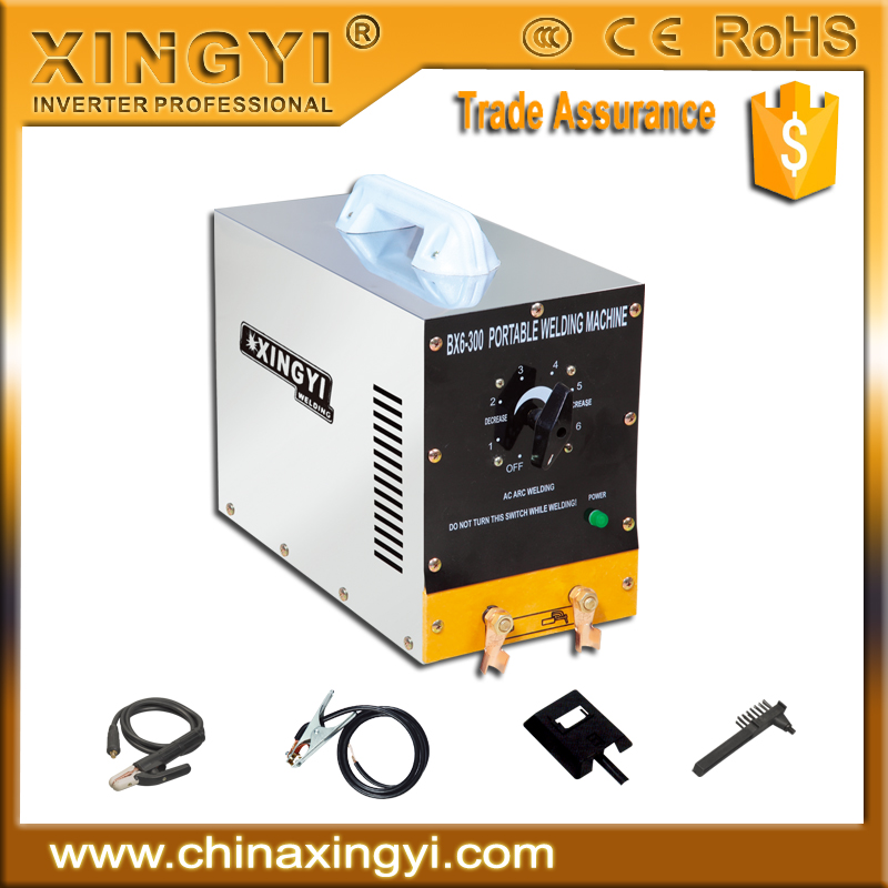 CE CCC ROHS TUV Top quality low cost Top sell MMA160 IGBT control mini arc welder BX6-300