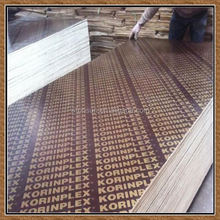 discount reliable quality 1220*2440*18mm film faced shuttering building construction materials/film faced plywood for