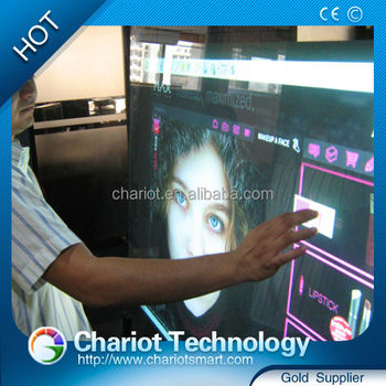 Christmas hot seller ! ChariotTech Super slim USB IR touch screen panell overlay