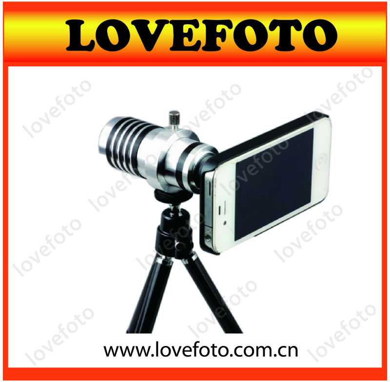 10X zoom telescope camera lens for any mobile phones