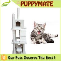 CD2-002 durable fabric cat tree multi-level cat furniture