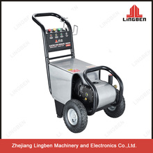Single Phase Electric High Pressure Washer 220V 3Kw 140Bar 2000PSI With Wheels Spare Parts LB-2000B