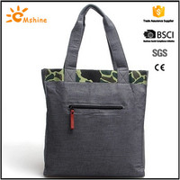 2016 hot selling canvas women tote fashion designer bags
