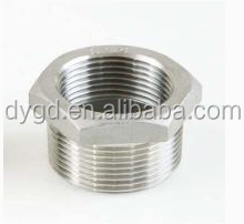 Stainless Steel 316 Casting Pipe Fitting, Hex Bushings, NPT Male & NPT Female