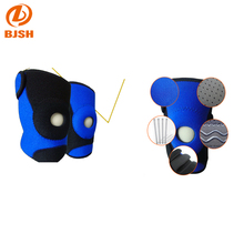 New Style Knee Brace Adjustable Spring Knee Support with non-slip silicone